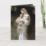 PixDezines The Innocence, Holiday Greeting Cards card