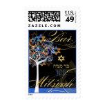 PixDezines tree of life/ Bar Mitzvah/monogram Stamps