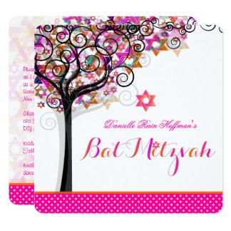 PixDezines Tree of Life Bat Mitzvah/DIY Background Card