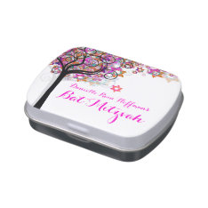 Pixdezines Tree Of Life/bat Mitzvah/favors Jelly Belly Tin at Zazzle