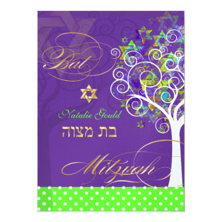 "PixDezines tree of life/diy colorx 5.5"" X 7.5"" Invitation Card"