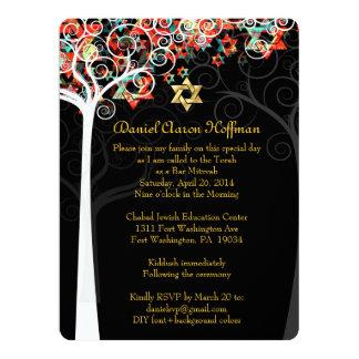 PixDezines tree of life mitzvah Card