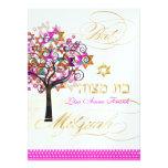 PixDezines tree of life+Stars, Bat Mitzvah Announcement