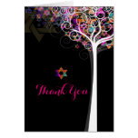 PixDezines tree of life/thank you/DIYbackground Stationery Note Card