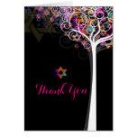 PixDezines tree of life/thank you/DIYbackground Greeting Cards