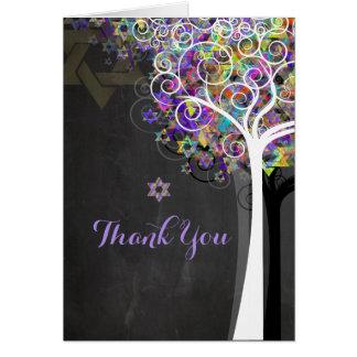 PixDezines tree of life/thank you/DIYbackground Greeting Card
