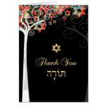 PixDezines tree of life/thank you/DIYbackground Stationery Note Card