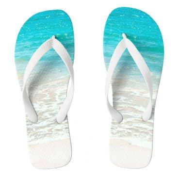 pixdezines PixDezines Tropical Beach Flip Flops