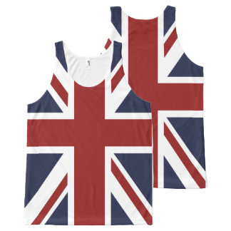 PixDezines union jack All-Over-Print Tank Top