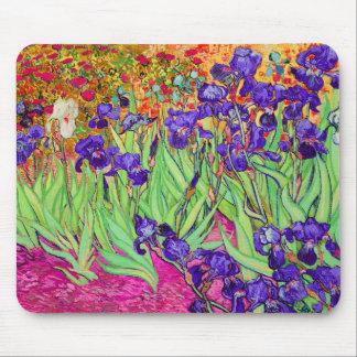 PixDezines Van Gogh iris/st. remy Alfombrillas De Raton
