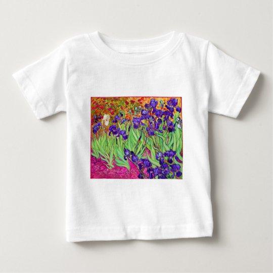 PixDezines van gogh iris/st. remy Baby T-Shirt
