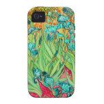PixDezines Van Gogh iris/st. remy iPhone 4/4S Funda
