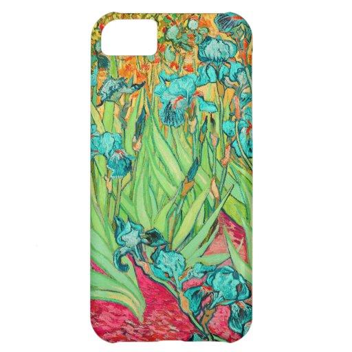 PixDezines Van Gogh iris/st. remy Funda Para iPhone 5C