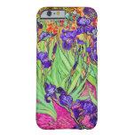 PixDezines Van Gogh iris/st. remy Funda De iPhone 6 Barely There