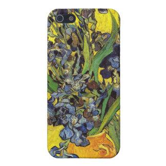 PixDezines Van Gogh iris/st. remy iPhone 5 Funda