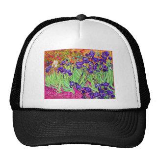 PixDezines van gogh iris st remy Trucker Hat