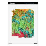 PixDezines Van Gogh iris/st. remy iPad 3 Skin