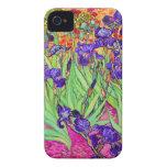 PixDezines Van Gogh iris/st. remy iPhone 4 Funda