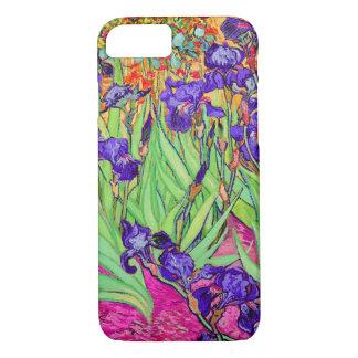 PixDezines van gogh iris/st. remy iPhone 7 Case
