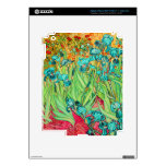PixDezines Van Gogh iris/st. remy Pegatina Skin Para iPad 3