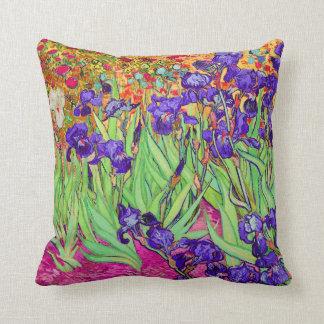 PixDezines van gogh iris/st. remy Pillows