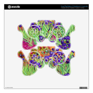 PixDezines van gogh iris/st. remy Skins For PS3 Controllers