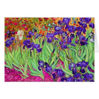 PixDezines Van Gogh iris st remy