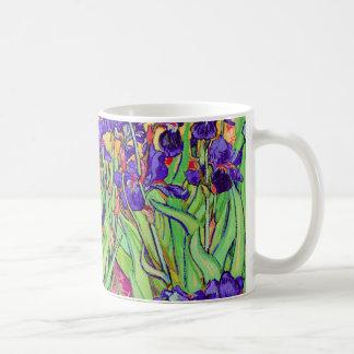 PixDezines Van Gogh iris/st. remy Tazas De Café