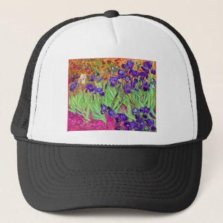 PixDezines van gogh iris/st. remy Trucker Hat