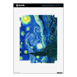 PixDezines Van Gogh Starry Night/St. Remy iPad 3 Skin