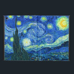 "PixDezines Van Gogh Starry Night/St. Remy iPad Air Cover<br><div class=""desc"">Van Gogh&#39;s famous painting,  &quot;The Starry Night.&quot; Painted during his stay at the Saint Remy asylum in the 1880&#39;s,  van Gogh depicted the rolling hills and cypress trees he saw from his window.  Digitally enhanced by PixDezines.  Copyright &#169; 2008-2016 PixDezines.com™ and PixDezines™ on zazzle.com. All rights reserved.</div>"