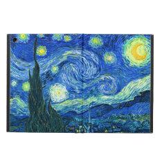 Pixdezines Van Gogh Starry Night/st. Remy Ipad Air Cover at Zazzle