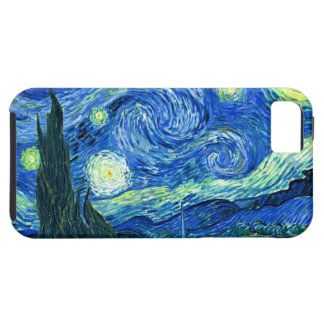 PixDezines Van Gogh Starry Night/St. Remy iPhone SE/5/5s Case