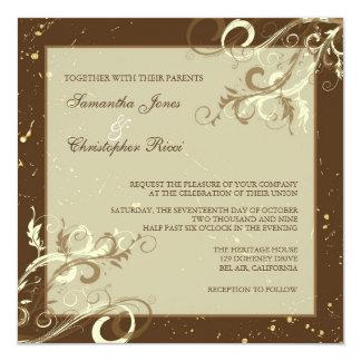 PixDezines VANILLA SWIRLS/CAFE AU LAIT Card