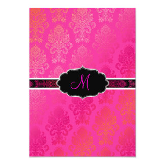 PixDezines Victorian Damask/Berry, Berry/DIY color Card