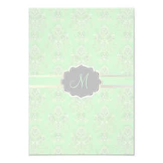 PixDezines Victorian Damask/seafoam/DIY color Card