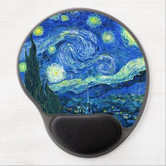 PixDezines Vincent van Gogh/noche estrellada Alfombrilla Para Ratón De Gel