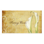 PixDezines Vintage Calla Lillies, Seating Cards Business Cards