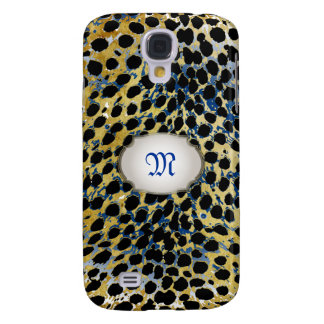 PixDezines vintage cheetah spots Galaxy S4 Cover