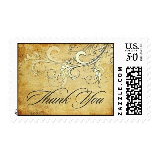PixDezines vintage cream swirls/faux parchment Postage