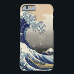 "PixDezines Vintage, Great Wave, Hokusai 葛飾北斎の神奈川沖浪 Barely There iPhone 6 Case<br><div class=""desc"">PixDezinves the great waves,  iphone 6 cases.  Vintage of Japanese art. The Great Wave of Kanagawa is one of the most seen worldwide. The artist,  Hokusai,  1832 (Edo Period). Depicting okinami as the great waves,  NOT tsunami. Digitally enhanced by PixDezines.com™ and PixDezines™ on PixDezines.com.com</div>"