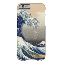 PixDezines Vintage, Great Wave, Hokusai 葛飾北斎の神奈川沖浪 Barely There iPhone 6 Case