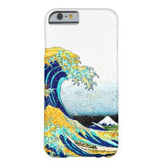 PixDezines Vintage, Great Wave, Hokusai 葛飾北斎の神奈川沖浪 Barely There iPhone 6 Case