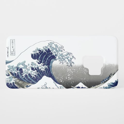 PixDezines Vintage, Great Wave, Hokusai 葛飾北斎の神奈川沖浪 Case-Mate Samsung Galaxy S9 Case