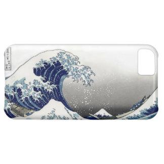 PixDezines Vintage, Great Wave, Hokusai 葛飾北斎の神奈川沖浪 Cover For iPhone 5C
