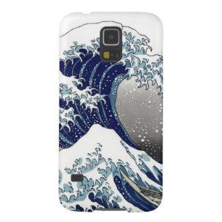 PixDezines Vintage, Great Wave, Hokusai 葛飾北斎の神奈川沖浪 Galaxy S5 Case