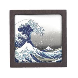 PixDezines Vintage, Great Wave, Hokusai 葛飾北斎の神奈川沖浪 Gift Box