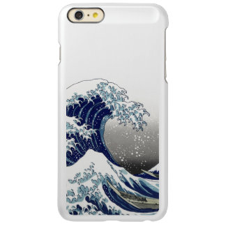 PixDezines Vintage, Great Wave, Hokusai 葛飾北斎の神奈川沖浪 Incipio Feather® Shine iPhone 6 Plus Case