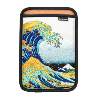 PixDezines Vintage, Great Wave, Hokusai 葛飾北斎の神奈川沖浪 iPad Mini Sleeve