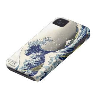 PixDezines Vintage, Great Wave, Hokusai 葛飾北斎の神奈川沖浪 iPhone 4 Case
